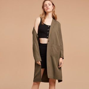 Aritzia Wilfred free herms jacket